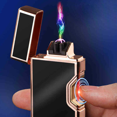 Infrared Dual Arc Electric USB Lighter Plasma Flameless  Rechargeable Cigarette