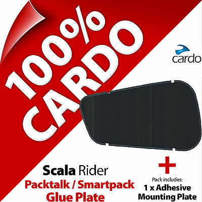 Cardo Scala Rider Replacement Spare Glue Plate for PackTalk / SmartPack Helmet