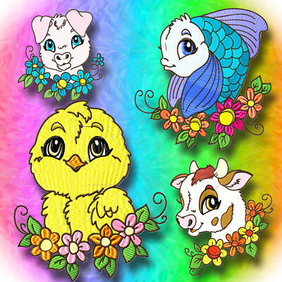 Here Is Looking At You 10  Machine Embroidery Designs Cd 3 Sizes