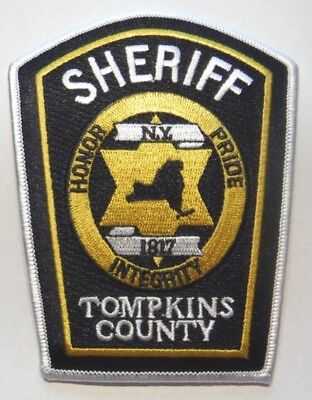 Tompkins County New York Sheriff Patch Unused
