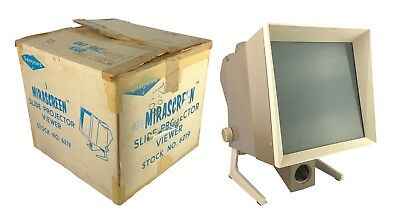 Sawyer's MIRASCREEN Slide Projector Viewer No.6219 - Excellent in box!