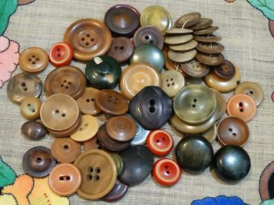 LOT ANTIQUE VINTAGE TAUGA NUT VEGETABLE IVORY BUTTONS Carved Dyed Whistles