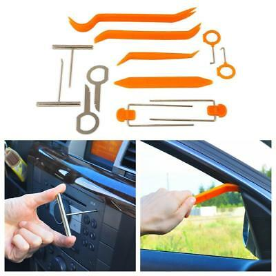 Car Radio Audio Stereo Door Trim Dash Panel Install Removal Pry Tool Tools Kit