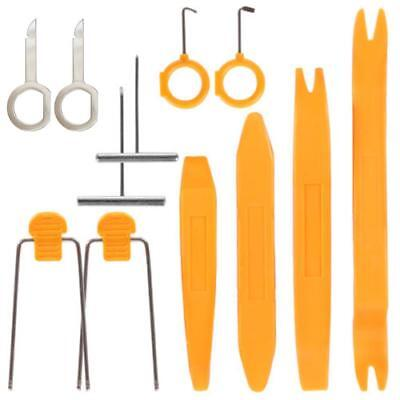 12Pcs Car Radio Audio Stereo Door Trim Dash Panel Install Removal Pry Tool Kit