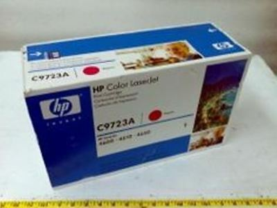 HP C9723A Magenta 4600 Genuine Toner Cartridge NEW