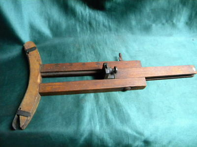 Wheelwright's Cooper's or Woodworker's Radial Circular Scribe