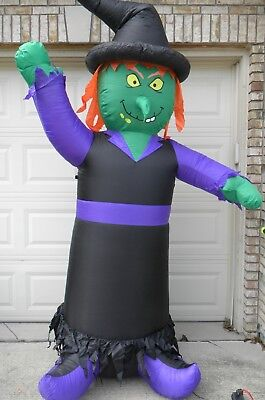 8ft Scary WITCH Halloween AIrblown Inflatable Decor
