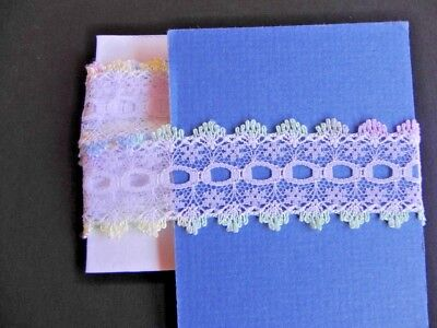 Card of New Knit Lace - Multi coloured