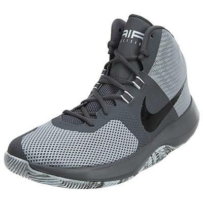 4054d9f7d5a3 NIKE Men s Air Precision Basketball Shoe Size 10.5 Color  Wolf  Grey Black-dark