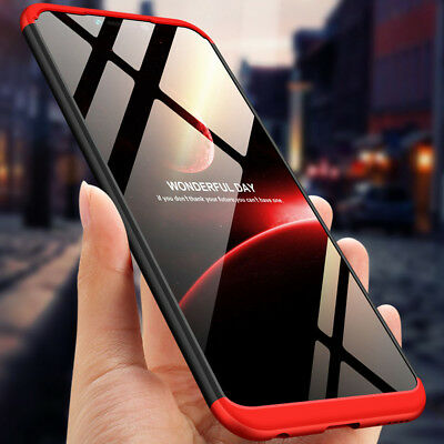 360° Full Protection Slim Cover Shockproof Hard Armor Case For Huawei Honor Play