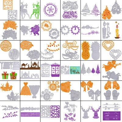 Xmas Metal Cutting Dies Stencil Scrapbooking Album Craft Embossing DIY Die-Cut