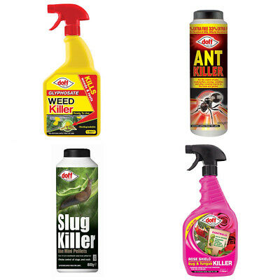 Doff Weedkiller Pest Control Ant Slug and Fungus Killer Solutions T&M