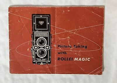 Rollei Magic, Instructions. 1960