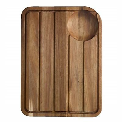 Jamie Oliver Large Meat Carving Wooden Thick Chopping Board Roasts Kitchen Gift
