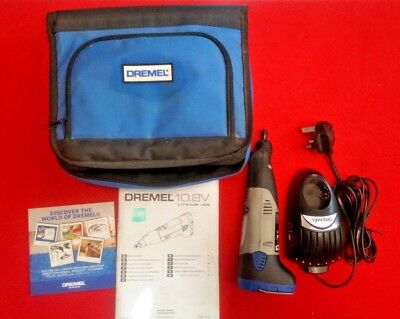 Dremel 8000 10.8v Li-ion Multi Tool Complete with Case Battery and Charger