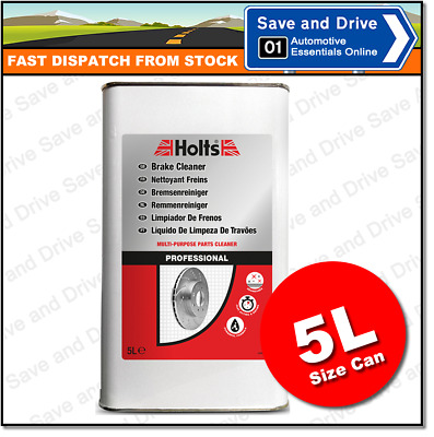 Holts Brake Cleaner, Clutch & Parts Professional Degreaser 5L 5 Litre HMAI0201A