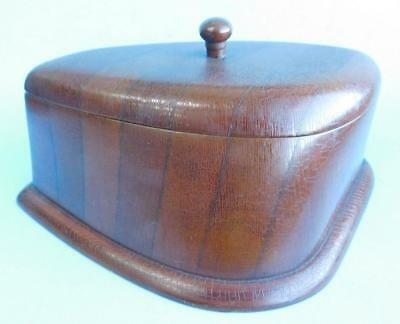 Fine RAAF Air Force WW2 Trinket Desktop Caddy Box made from Airplane Propeller