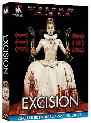 Excision  Ltd   Blu-Ray+Booklet    Horror