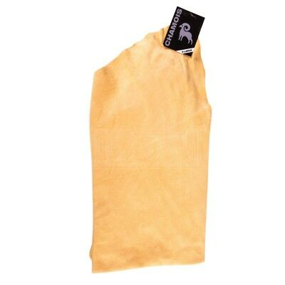 Martin Cox Genuine Chamois Leather Suede Buffing Drying Cloth Oil Tanned X-Large