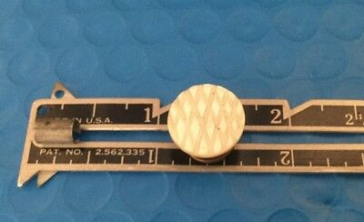 18th Century Carved Mother Of Pearl  Antique Stud Button