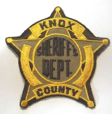 Old Knox County Kentucky Sheriff Patch
