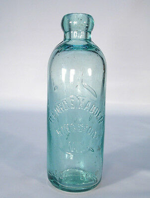 George Madden Kingston Ny New York Hutch Soda Or Mineral Water Bottle