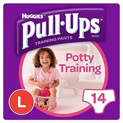 Huggies Pull-Ups Day Time Large Potty Training Pants for Girls