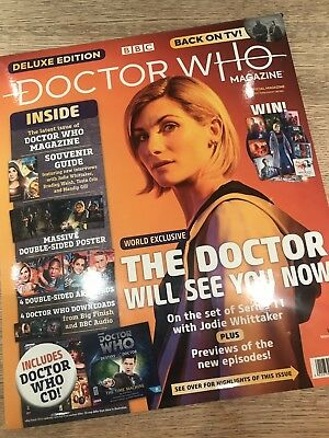 Doctor Who Jodie Whittaker Rare Bundle including Deluxe Doctor Who Magazine 530