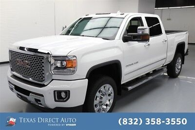 GMC Sierra 2500 Denali Texas Direct Auto 2015 Denali Used Turbo 6.6L V8 32V Automatic 4WD Pickup Truck
