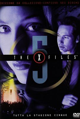 Dvd X Files - Stagione 05 (6 Dvd)
