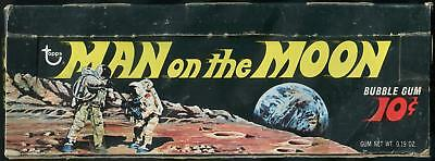 1969 Topps Man On The Moon 10-Cent Display Box