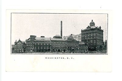 Rare c1900 Christian Heurich Brewing Co. Factory Scene Postcard Washington, DC