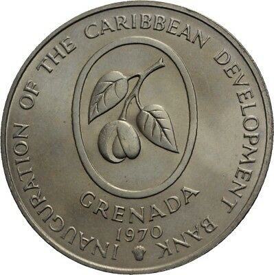 LANZ Grenada 4 Dollars 1970 FAO Food for all #GV2034
