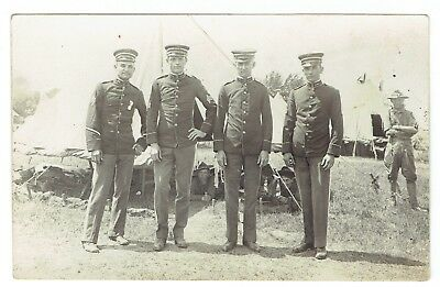 troops ( officers)   ,  real photo .  kruxo  paper