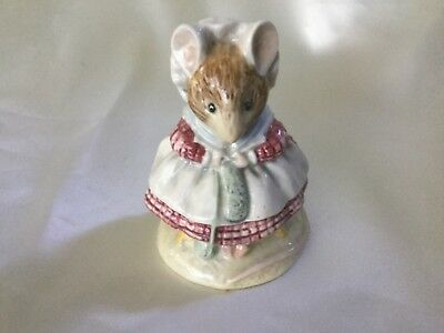 Beatrix Potter Figurines The Old Woman Who Lived In A Shoe Knitting Beswick