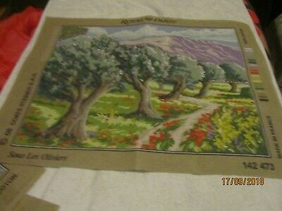 large printed canvas tapestry  15x19 tree scene