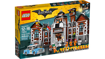 Brand New The LEGO Batman Movie Arkham Asylum 2016 (70912) Sealed MSIB