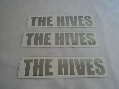 The Hives - Veni Vidi Vicious promo Sticker 2002 Set of 3 Promotional Card