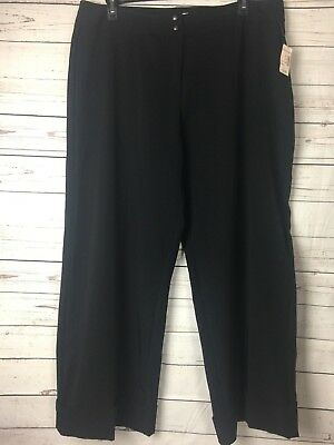 6fdeebc382 DRESS BARN WOMENS slacks black size 16 - $4.50 | PicClick