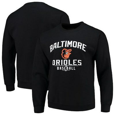MLB Stitches Holiday Pullover Crew Sweatshirt
