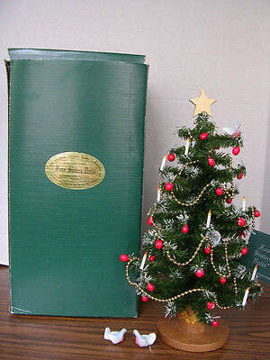 """Four Sisters Original Dickens """"Victorian Christmas Tree"""" from 1995"""