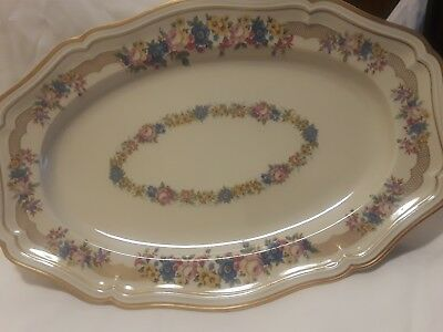 CHIPPENDALE Oval Serving Platter ROSENTHAL Bahnhof Selb GERMANY US-ZONE 2515 39