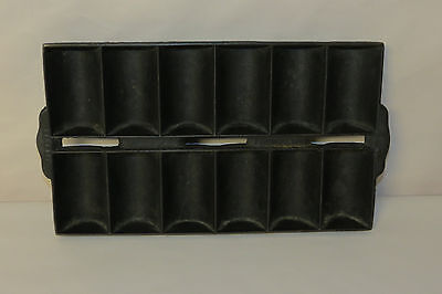 Vintage Cast Iron French Roll Pan 12 Roll Pan