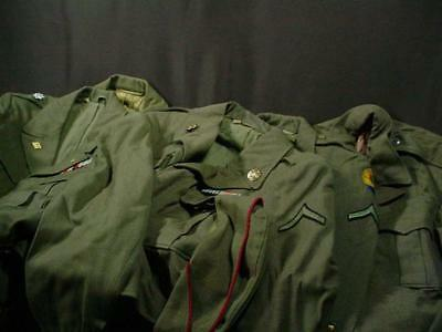 NobleSpirit NO RESERVE (DF) WW2 US Army x5 Jackets & Coats Some Named + Extras
