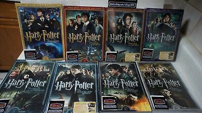 Harry Potter: Complete 8-Film Collection TWO-DISC SPECIAL EDITION. NEW FREE SHIP