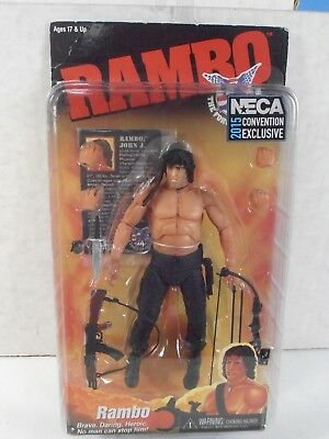 2015 Neca Convention Exclusive Reel Toys *rambo* First Blood Part 2 Figure Mip