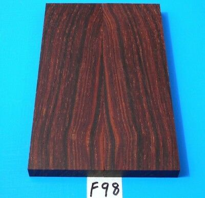 1 Pair Knife Scales Cocobolo Rosewood~Knife Scales~Exotic Wood Lumber