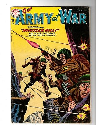 OUR ARMY AT WAR #31 VG+ (1955) (Last Pre Code)