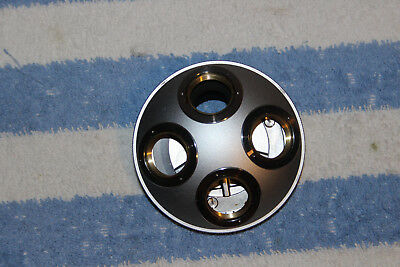 Nikon Microscope 4 Position Objective Turret nose for Pol Microscope