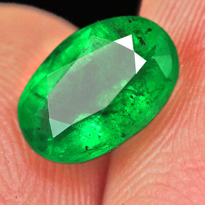 1.1Ct 100% Natural Museum Grade Green Emerald Collection QMD3472